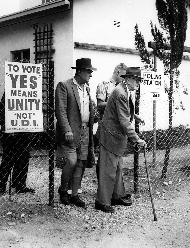 To Vote Yes Means Unity, Not U.D.I. (ca. 1964)